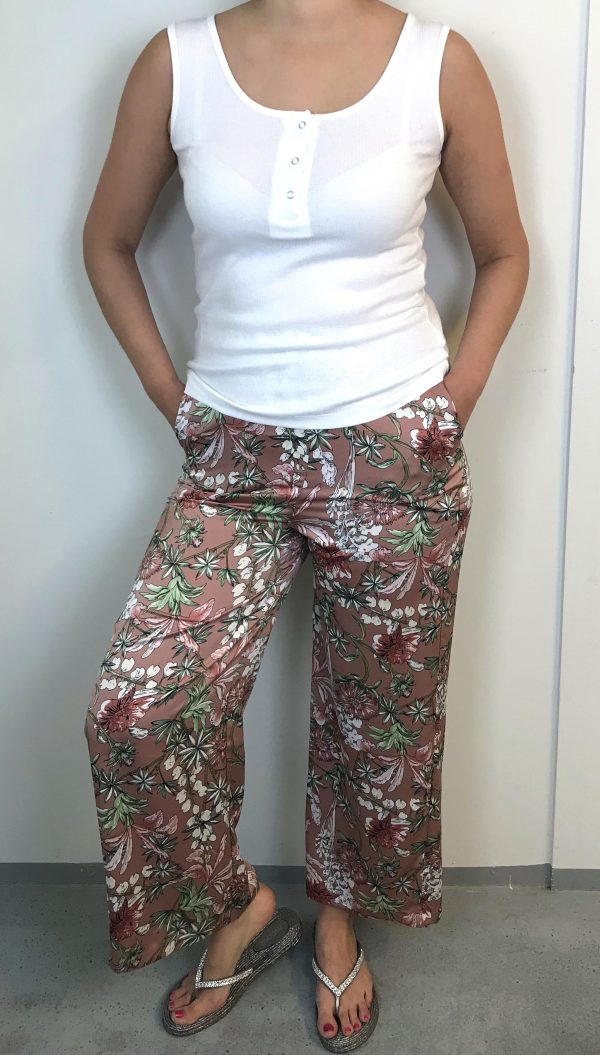 Widepants med print - Sophyline
