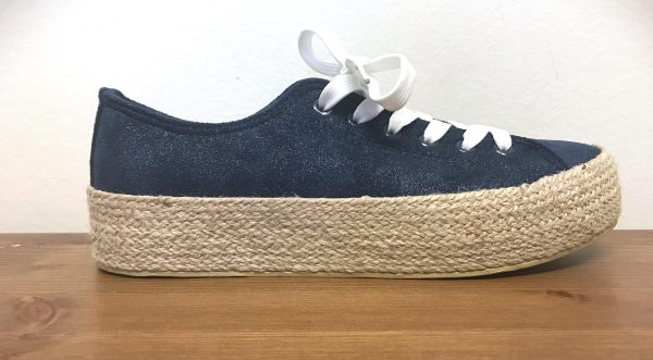 Plateau Sneakers Navy