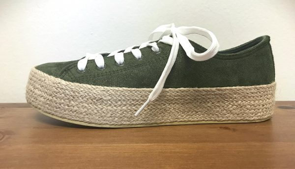 Plateau Sneakers Army