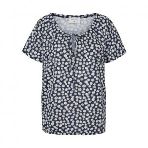 T-shirt med Print - Freequent